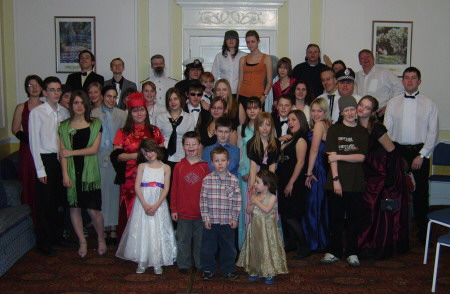 letton hall 2006 group photo for our Freeform murder mystery all at sea